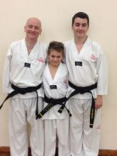 Vince Griggs, Luke Smith & Luke Griggs 1st Degree Black Belt